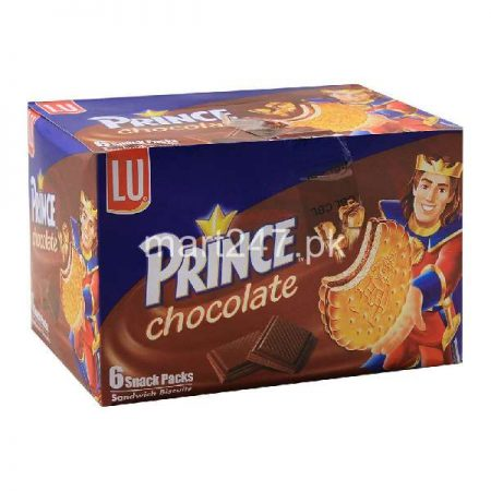 LU Prince Chocolate 6 Snack Packs