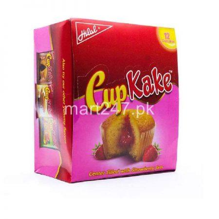 Hilal Cup Kake Strawberry 12 Pieces Box