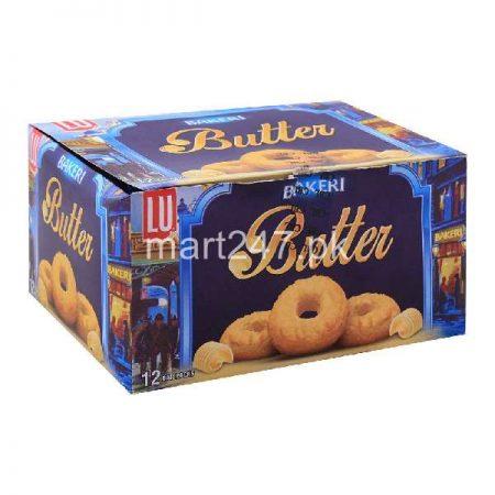 LU Bakeri Butter Cookies 12 Bar Packs