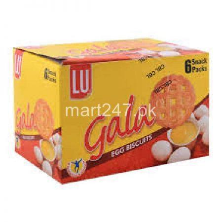 LU Gala Egg Biscuits 6 Snack Packs