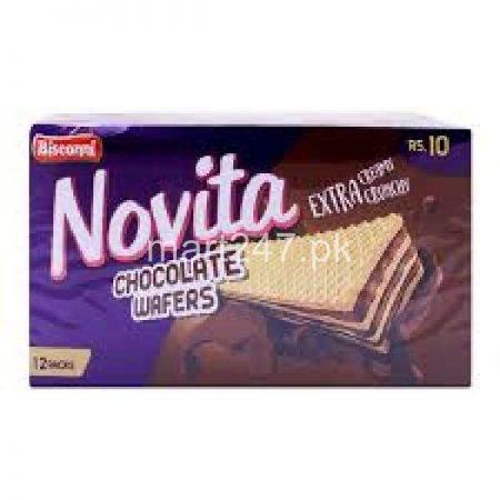 Bisconni Novita Chocolate Wafers 12 Packs
