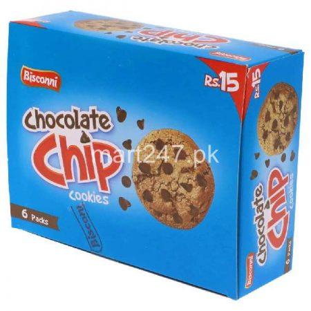 Bisconni Chocolate Chip 6 Half Rolls