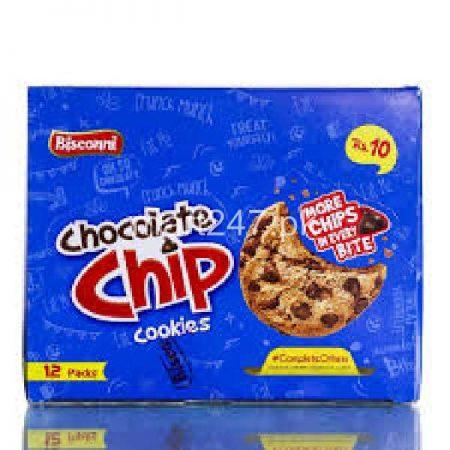 Bisconni Chocolate Chip 12 Mini Half Rolls
