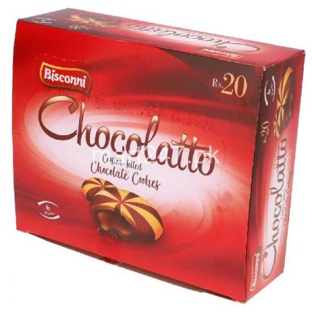 Bisconni Chocolatto 6 Big Packs 60 G