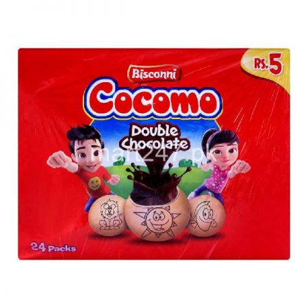 Bisconni Cocomo Chocolate 24 Ticky Packs