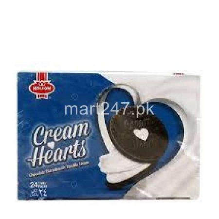 Kolson Cream Hearts 24 Ticky Pack Chocolate with Vanilla