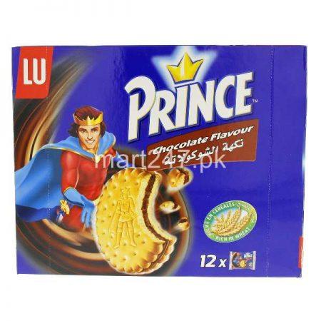 Lu Prince Chocolate Biscuits 12 Bar Pack