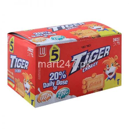 Lu Tiger Energy Biscuit 24 Snack Pack