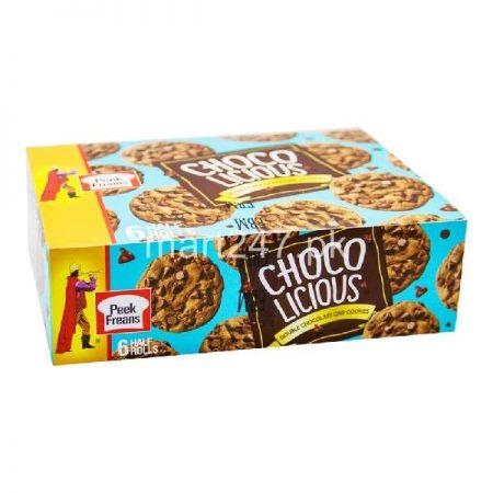 Peek Freans Choco Licious Double Chocolate Chip 6 Half Roll