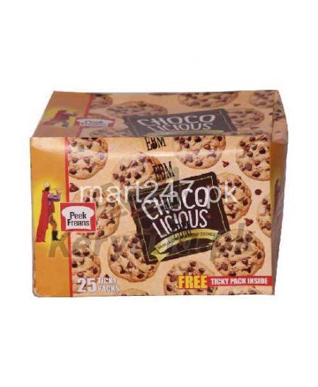 Peek Freans Choco Licious Vanilla Chocolate Chip 25 Ticky Pack 1 Free Inside