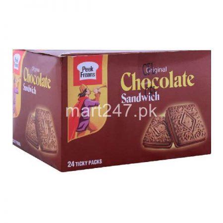 Peek Freans Chocolate Sandwich 24 Ticky Pack