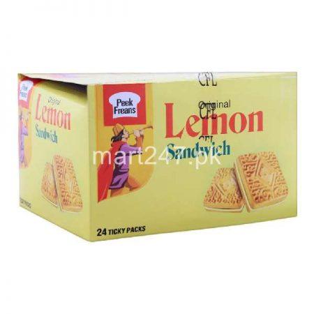 Peek Freans Lemon Sandwich 24 Ticky Pack