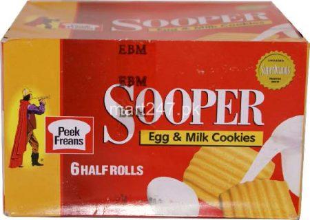 Sooper Egg & Milk Cookies 6 Halfroll + 1 Ticky Pack