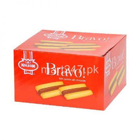 Kolson Bravo Milk Cookies With Chocolate 6 Pack