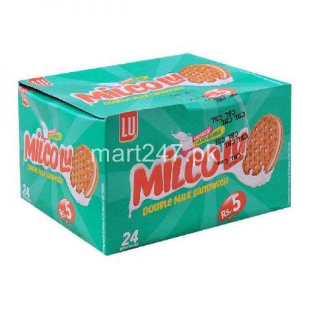 Milco Lu Double Milk sandwich 24 Pieces