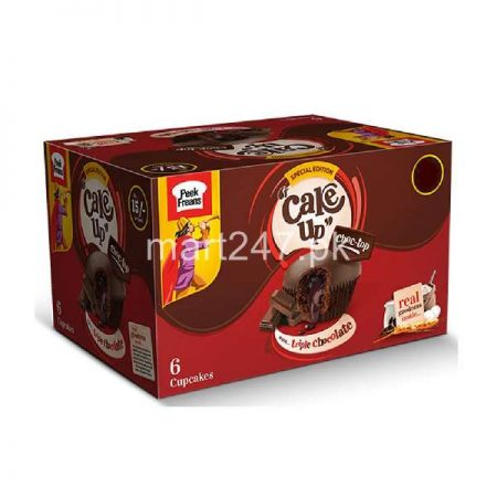 Peek Freans Cake Up Triple Chocolate 6 Pieces Box