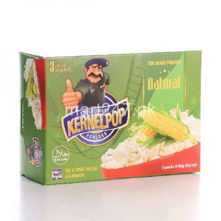 Kernelpop Natural Pop Corns 90 G 3 Pack Set