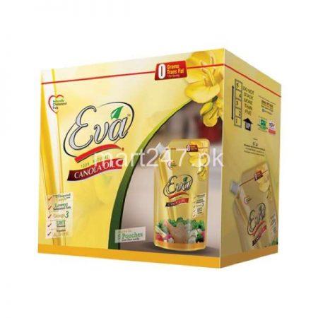 Eva Canola Oil 1 L X 5