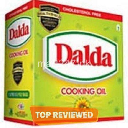 Dalda Fortified Canola Oil 1 L x 5