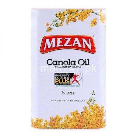 Mezan Canola Oil 0.5 L x 5