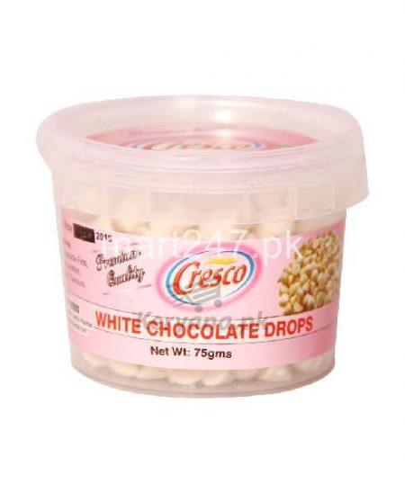 Cresco White Chocolate Drops 75 G