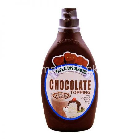 Salman Chocolate Topping 623 Grams