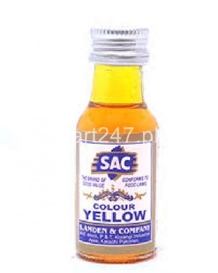 Sac Colour Yellow Food Colour 20 Ml
