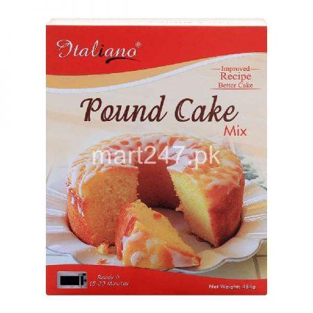 Italiano Pound Cake Mix 450 Grams