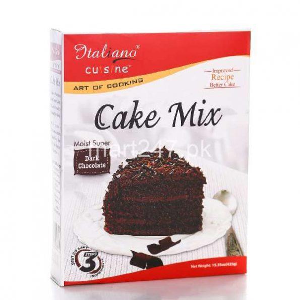 Italiano Cake Mix Dark Chocolate 435 Grams