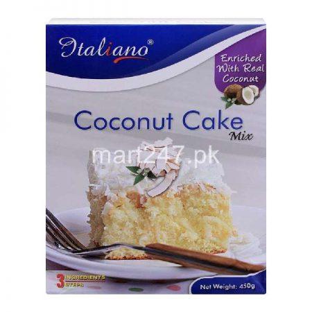 Italiano Coconut Cake Mix 450 Grams