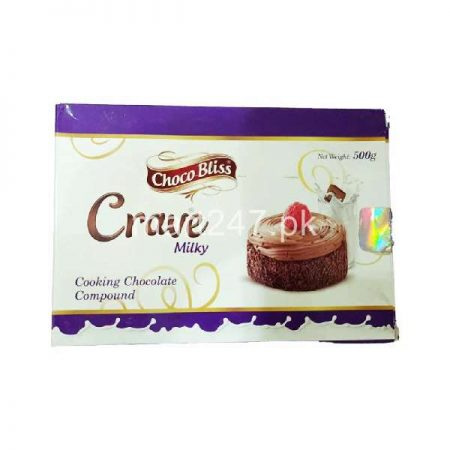 Choco Bliss Crave Milky Cooking Chocolate 500 g