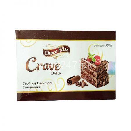 Choco Bliss Crave Dark Cooking Chocolate 500 g
