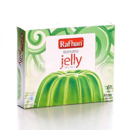 Unilever Rafhan Jelly Banana 80 G
