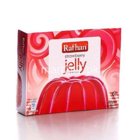 Unilever Rafhan Jelly Straweberry 80 G