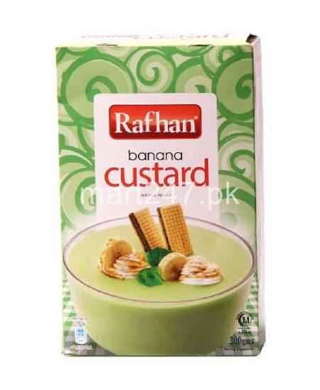 Unilever Rafhan Banana Custard 300 G