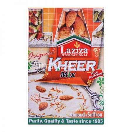 Laziza Kheer Mix Almond & Saffron 155 G Standard Pack
