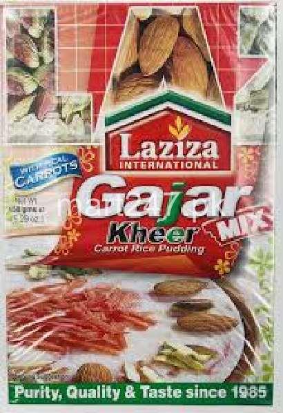 Laziza Gajar Kheer 155 G Standard Pack