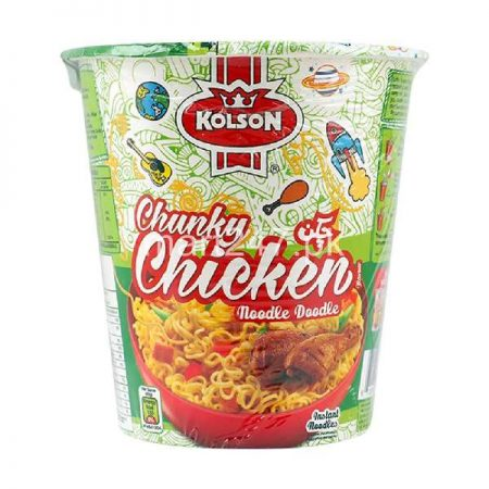 Kolson Chunky Chicken Cup Noodle 75 G