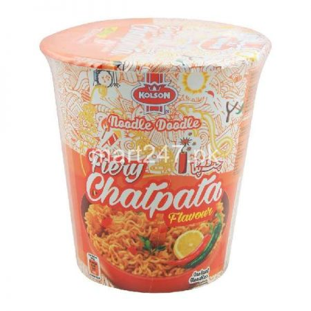 Kolson Fiery Chatpata Cup Noodle 75 G