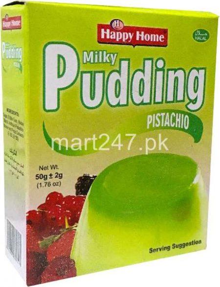 Happy Home Milky Pudding 50 G - Pistachio