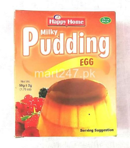 Happy Home Milky Pudding 50 G - Egg